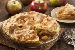 Homemade Organic Apple Pie Dessert Ready to Eat