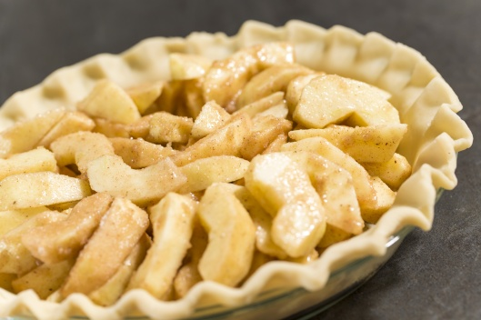Apple Pie ready for baking